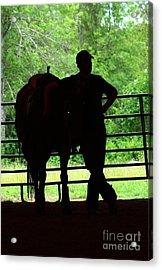 Buddies - Horse Photography By Valentina Miletic Acrylic Print