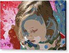 Budding Artist Acrylic Print by Ellen Henneke