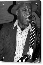 Buddy Guy Sings The Blues Acrylic Print