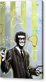 Buddy Holly Acrylic Print by Erica Falke