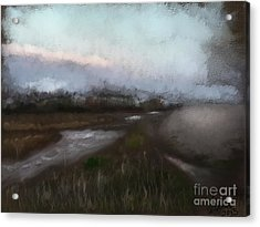 Budleigh Salterton Acrylic Print