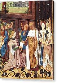 Bueil, John V Of 1406-1477. Charles Acrylic Print by Everett