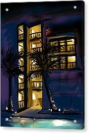 Buenos Noches Gloria Acrylic Print