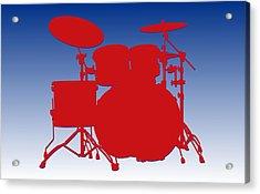 Buffalo Bills Drum Set Acrylic Print
