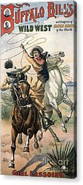 Buffalo Bill�s Wild West Show  1898 Acrylic Print by The Advertising Archives