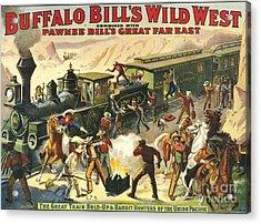 Buffalo Bill's Wild West Show  1907 Acrylic Print