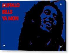 Buffalo Bills Ya Mon Acrylic Print by Joe Hamilton