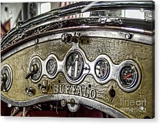 Buffalo Fire Appliance Dash Acrylic Print