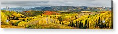 Buffalo Pass Steamboat Springs Co Acrylic Print