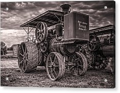 Buffalo Pitts Steam Traction Engine Acrylic Print