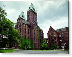 Buffalo Psychiatric Center Acrylic Print by Tom Brickhouse