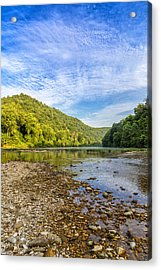 Buffalo River Details Acrylic Print by Bill Tiepelman