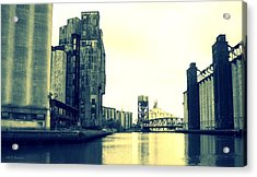Buffalo River Acrylic Print by John Carncross