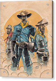 Buffalo Soldiers Acrylic Print