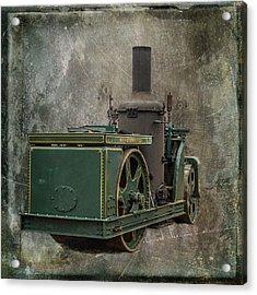 Buffalo Springfield Steam Roller Acrylic Print