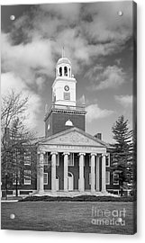 Buffalo State College Rockwell Hall Acrylic Print by University Icons