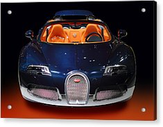 Bugatti Luxury Sport Car Acrylic Print