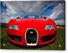 Bugatti Veyron Acrylic Print by Peter Tellone