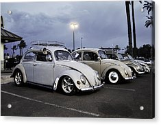 Bugs Night Out Acrylic Print by Rob Weisenbaugh