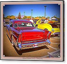 Buick Classic Acrylic Print by Bobbee Rickard