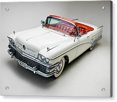 Buick Limited Convertible 1958 Acrylic Print by Gianfranco Weiss