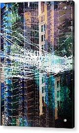 Building Boom Acrylic Print by John Fish