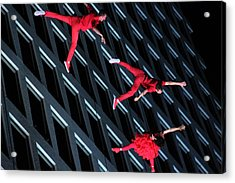 Building Dancers  Acrylic Print