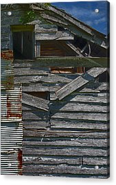 Building Materials Acrylic Print by Murray Bloom