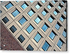 Building Of Windows Acrylic Print