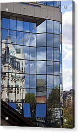 Building Reflected Acrylic Print