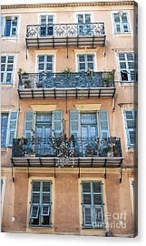 Building With Balconies Acrylic Print