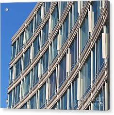 Building With Windows Acrylic Print by Cynthia Snyder