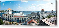 Buildings At The Harborfront, Sierra Acrylic Print