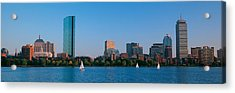 Buildings At The Waterfront, Back Bay Acrylic Print