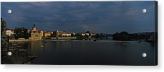 Buildings At The Waterfront, Charles Acrylic Print