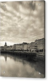 Buildings At The Waterfront, Old Port Acrylic Print by Panoramic Images