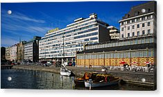 Buildings At The Waterfront, Palace Acrylic Print