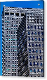 Buildings Downtown Pittsburgh Acrylic Print by Amy Cicconi