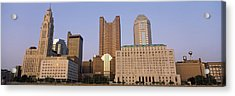 Buildings In A City, Columbus, Franklin Acrylic Print
