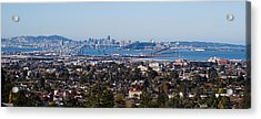 Buildings In A City, Oakland, San Acrylic Print by Panoramic Images