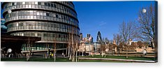 Buildings In A City, Sir Norman Foster Acrylic Print by Panoramic Images