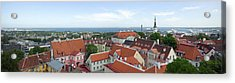 Buildings In A City, Tallinn, Estonia Acrylic Print by Panoramic Images