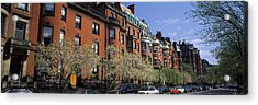 Buildings In A Street, Commonwealth Acrylic Print