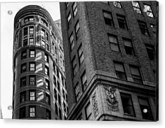 Buildings In New York Acrylic Print