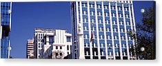 Buildings Viewed From Confederate Acrylic Print by Panoramic Images