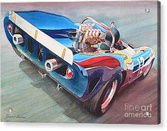 Built To Race Acrylic Print by Robert Hooper