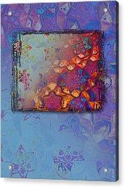 Bukhara Glow Acrylic Print