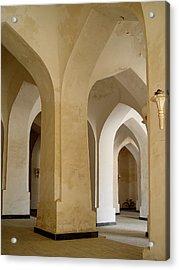 Bukhara Great Mosque Pillars Acrylic Print