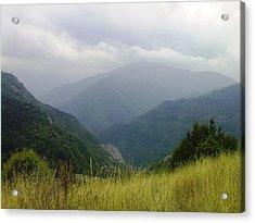 Bulgaria  Rodope Mountain Acrylic Print by Nina Mitkova