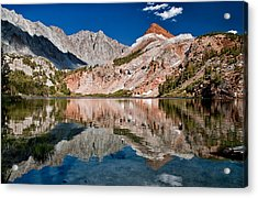Bull Lake And Chocolate Peak Acrylic Print